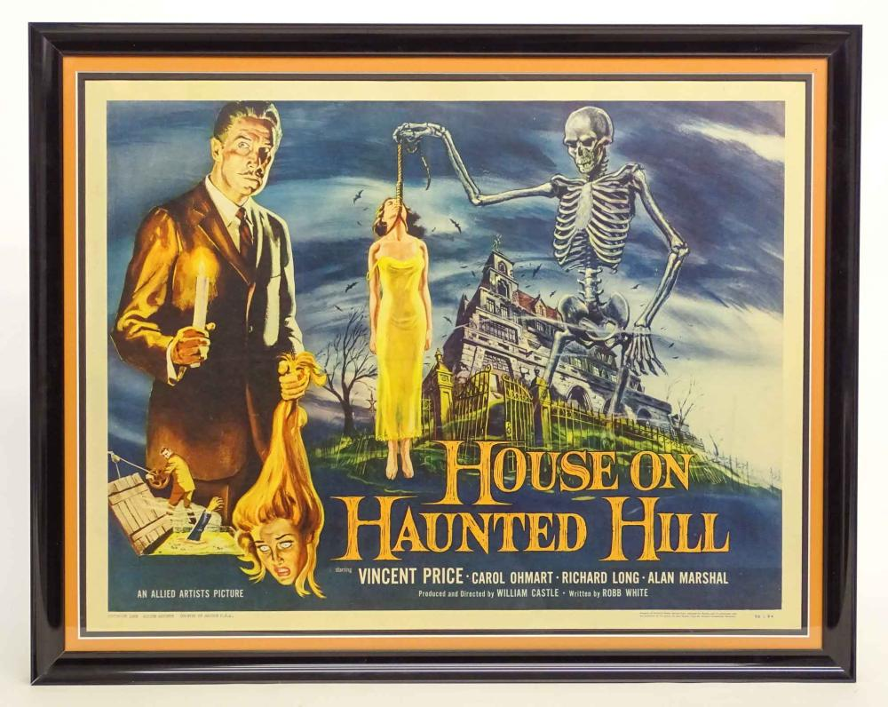 Movie Poster, House On Haunted Hill