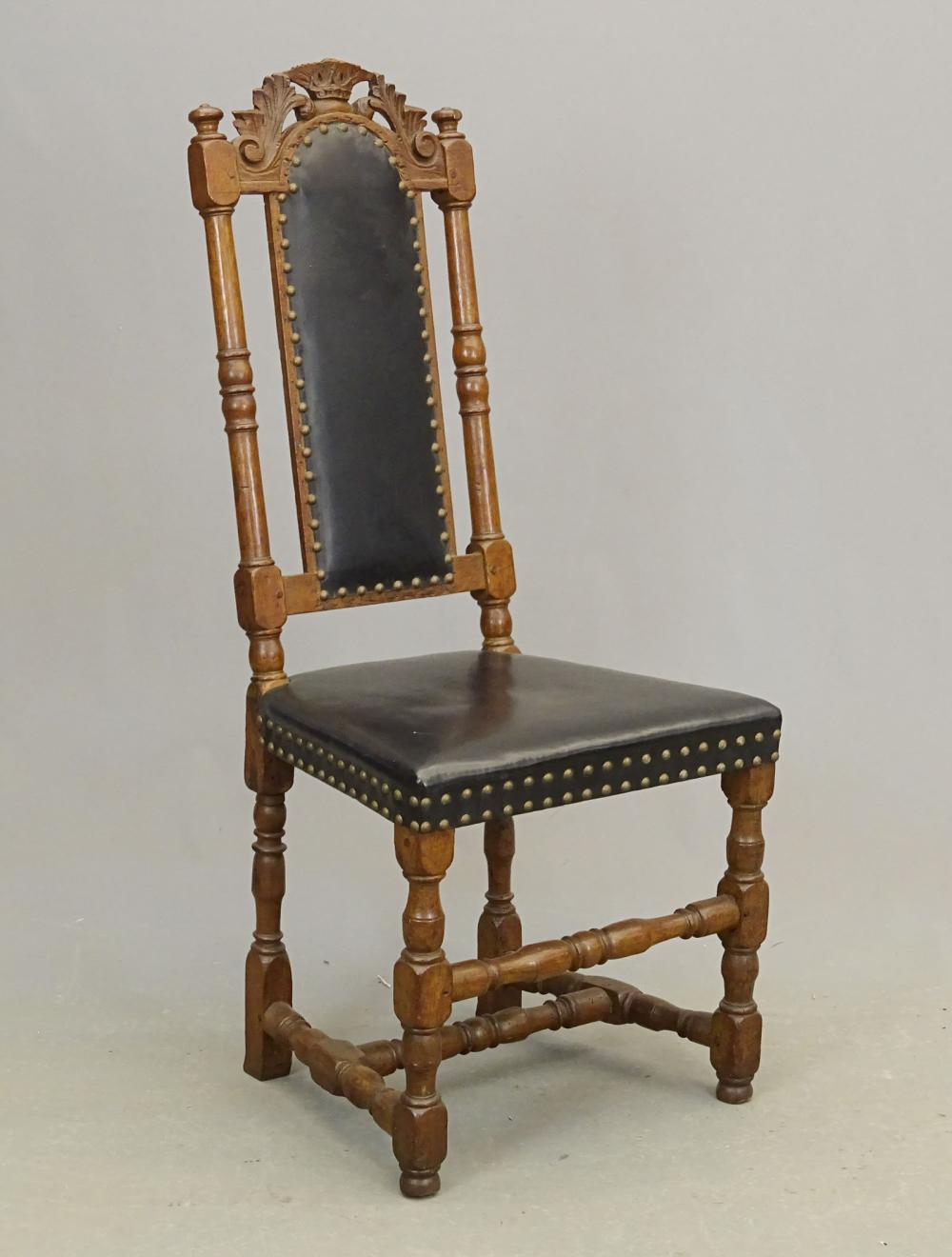 Early Continental Carved Chair