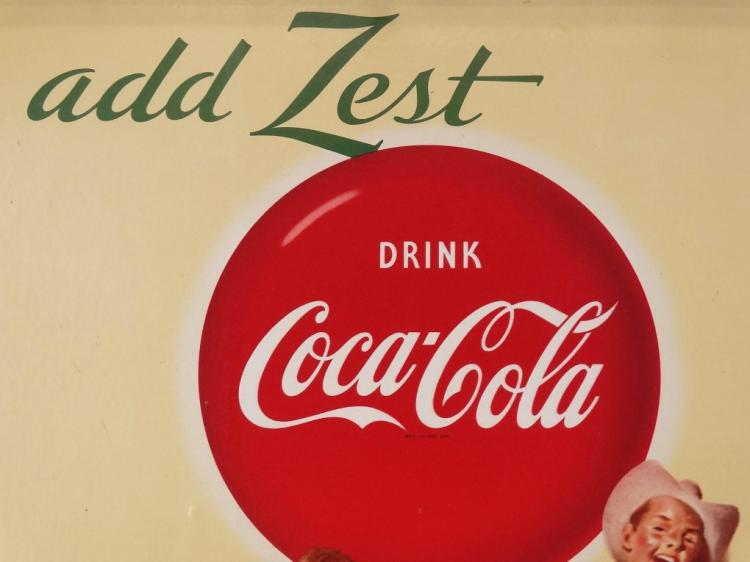 Coca Cola Advertising Poster