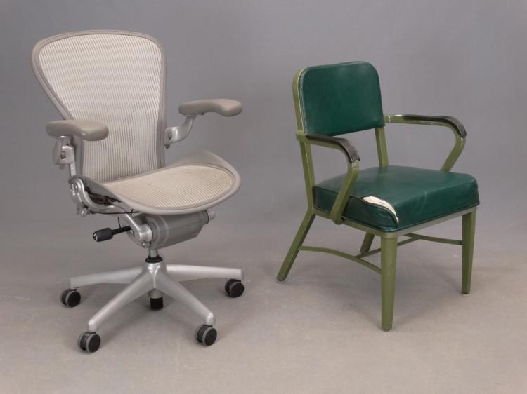 herman aeron chair vintage office chair