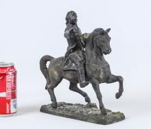Lot 2: Spelter Metal George Washington Statue