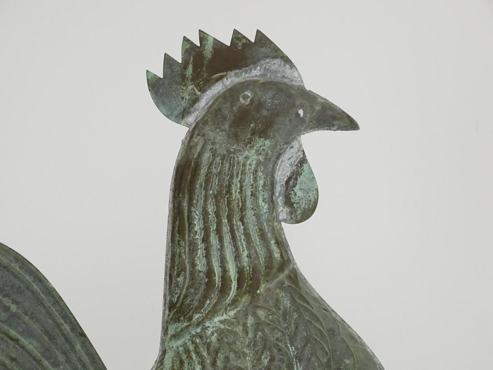 Lot 7: Rooster Weathervane