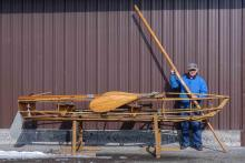 Lot 16: Adirondack Boat