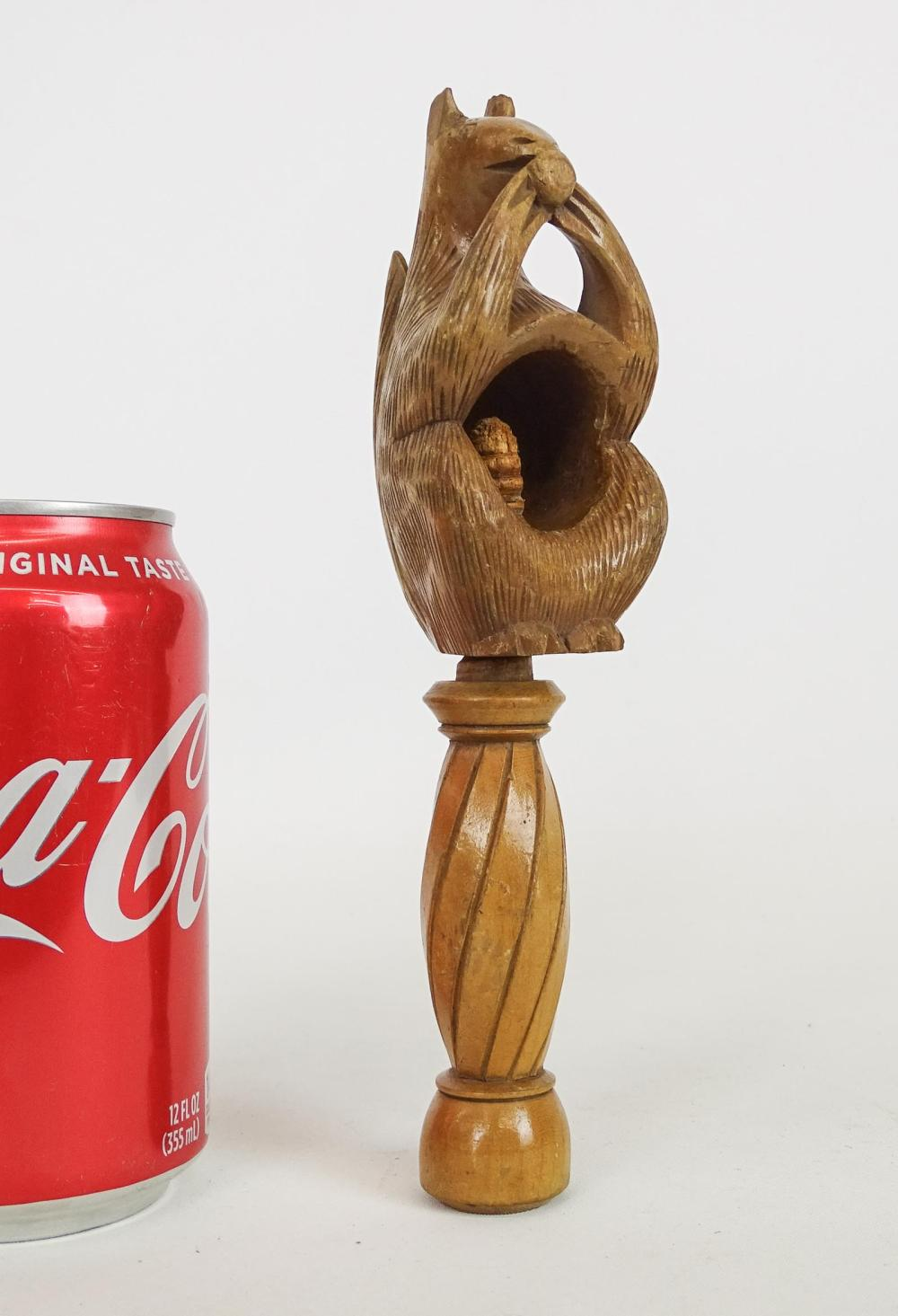 Carved Squirrel Nutcracker