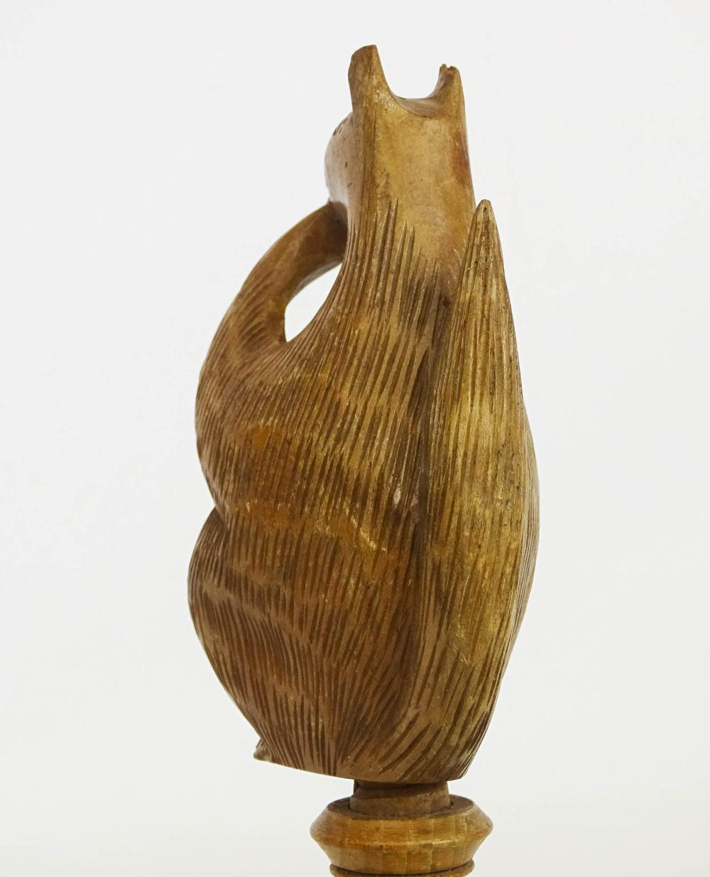 Lot 27: Carved Squirrel Nutcracker