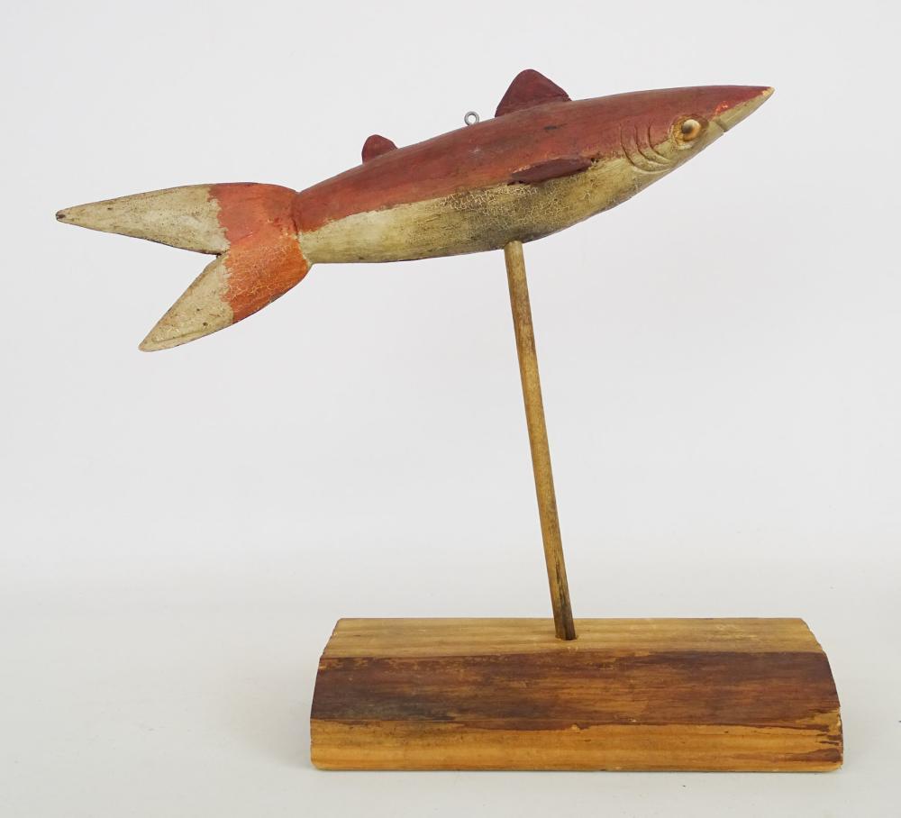 Lot 29: Shark Fish Decoy