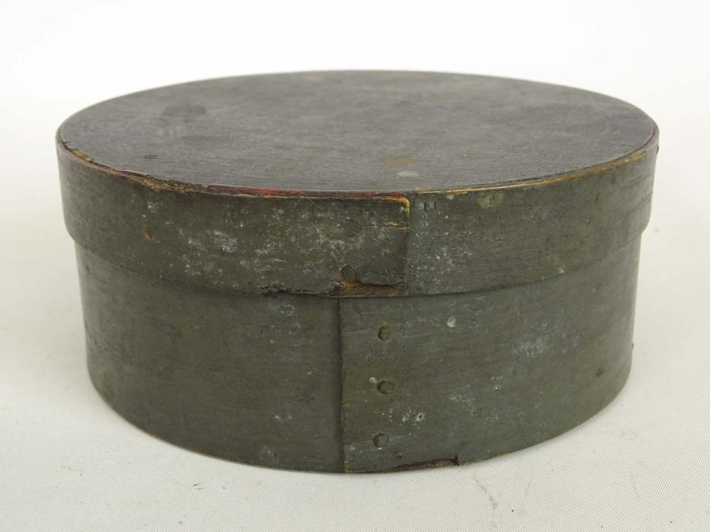 Lot 33: 19th c. Pantry Box