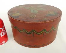 Lot 34: 19th c. Pantry Box