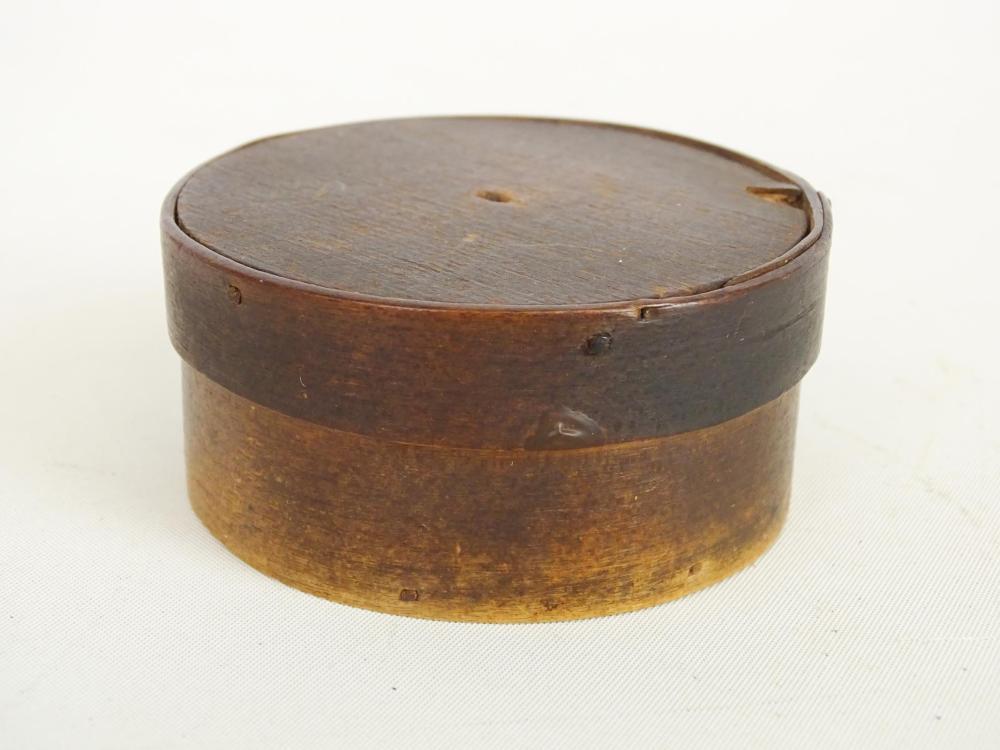 Lot 35: 19th c. Miniature Pantry Box
