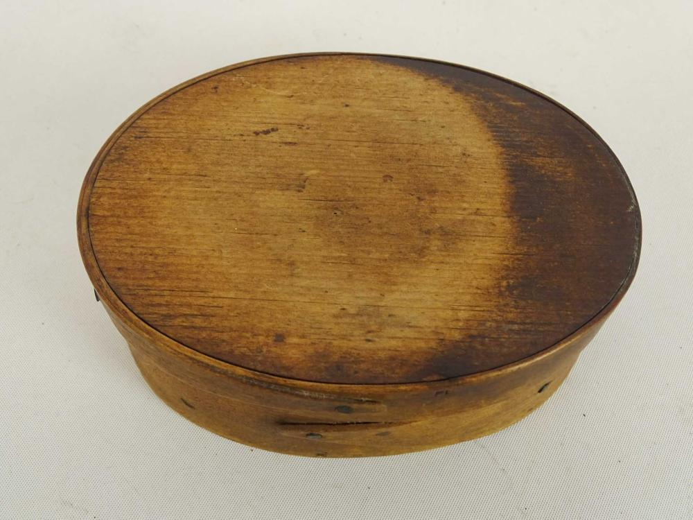 Lot 36: 19th c. Pantry Box