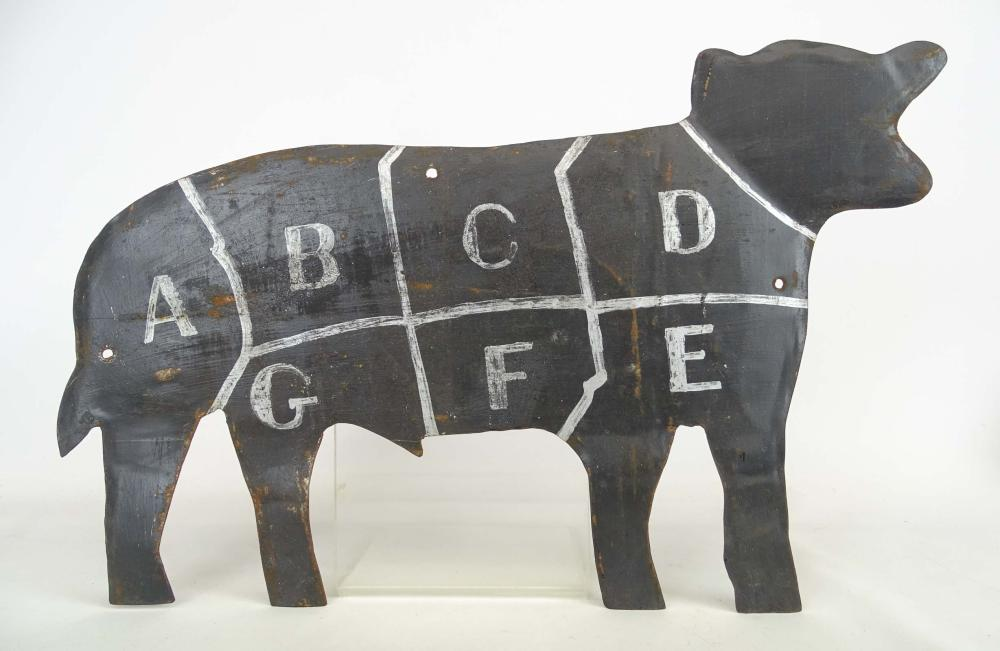 Lot 39: Trade Sign