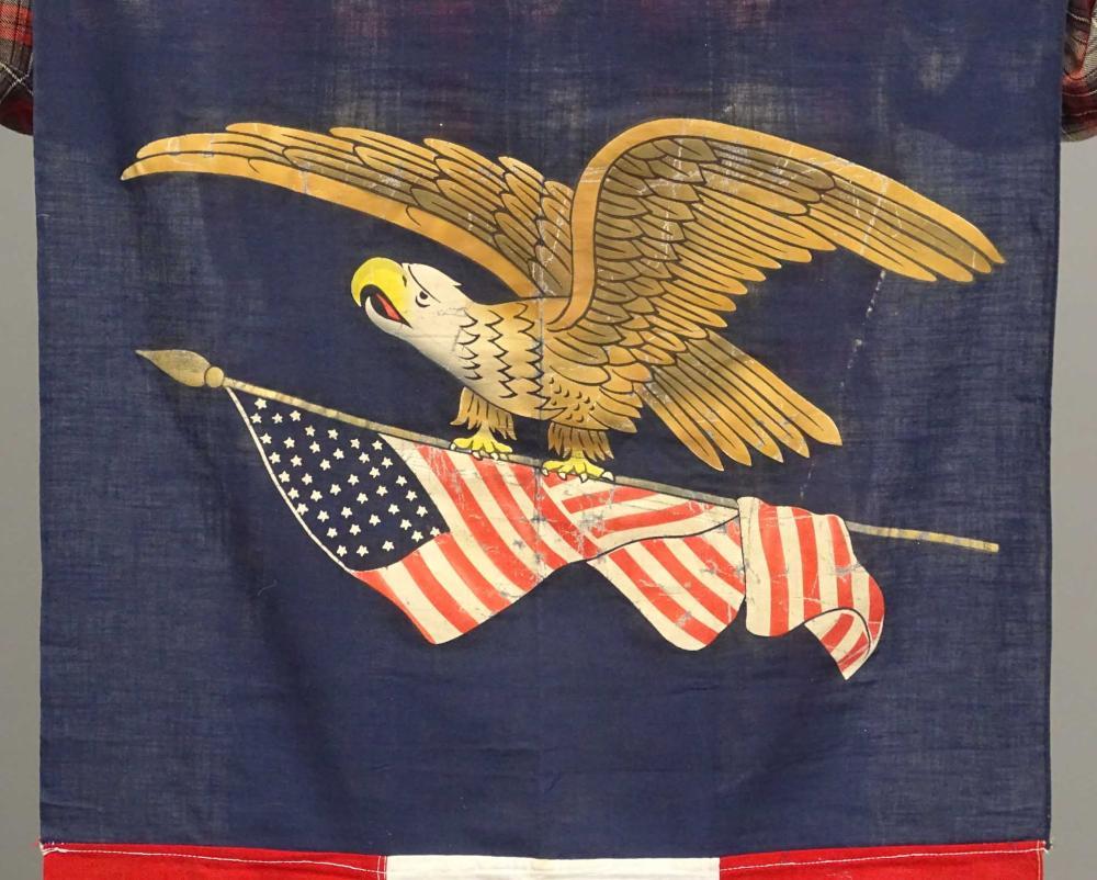 Lot 53: World War II Period Street Banner