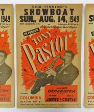 Lot 58: Vintage Jazz Broadside Posters