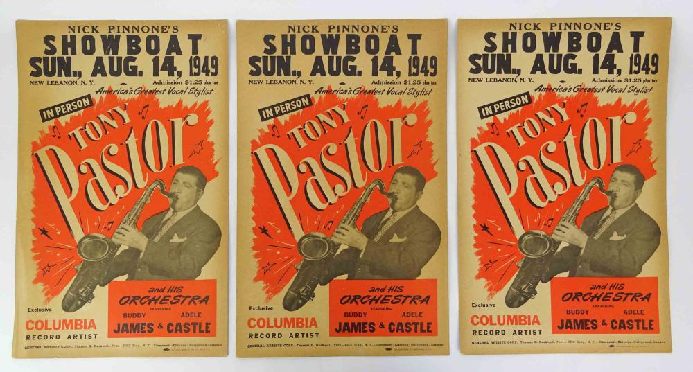 Vintage Jazz Broadside Posters