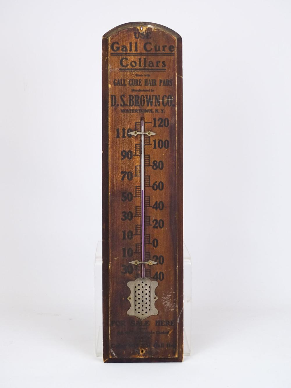 Early Advertising Thermometer