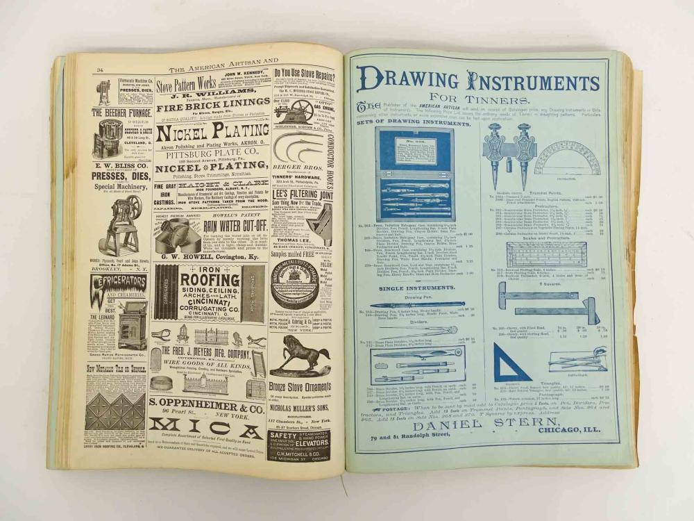 Lot 64: C. 1880's Trade Catalog