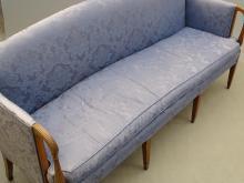 Lot 66: 19th c. Hepplewhite Sofa