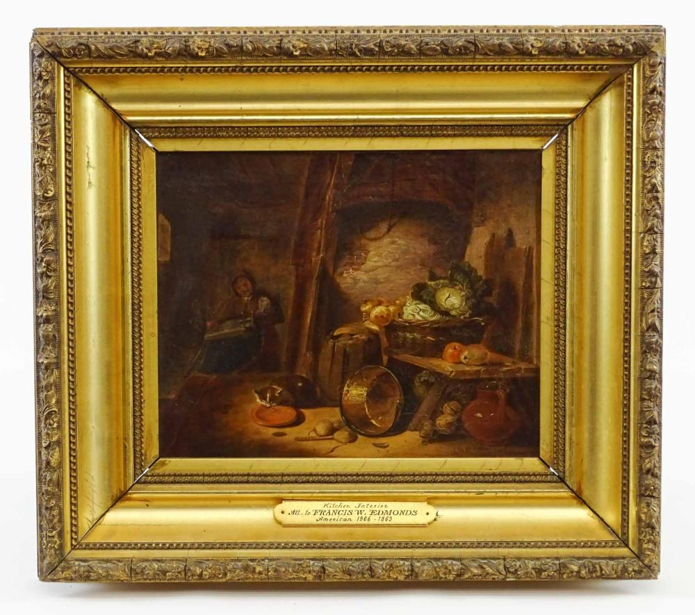 Lot 80: Attributed To Francis W. Edmonds