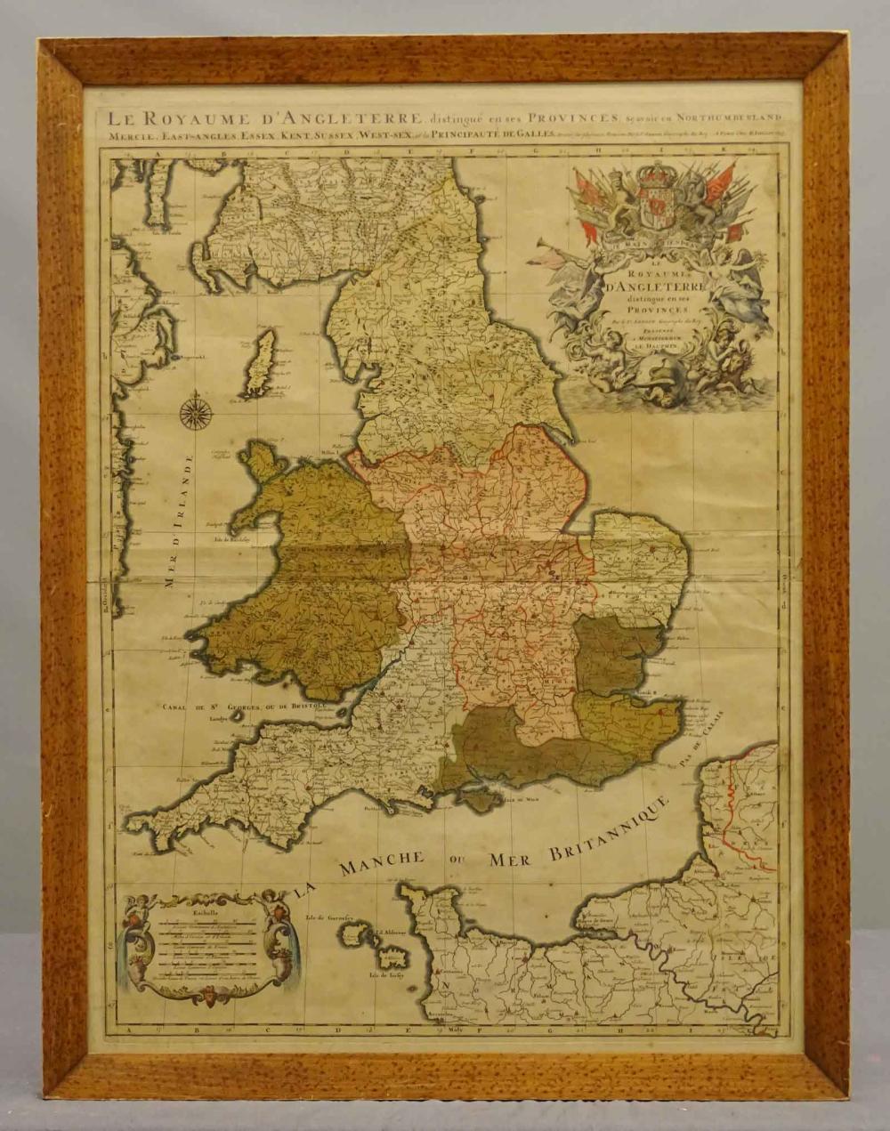 17th c. Map