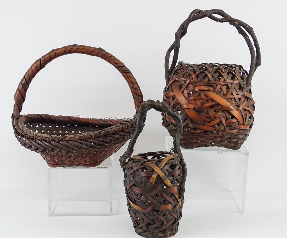 Lot 92: Japanese Baskets