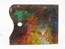 Lot 98: Bob Phillip Artist Palette