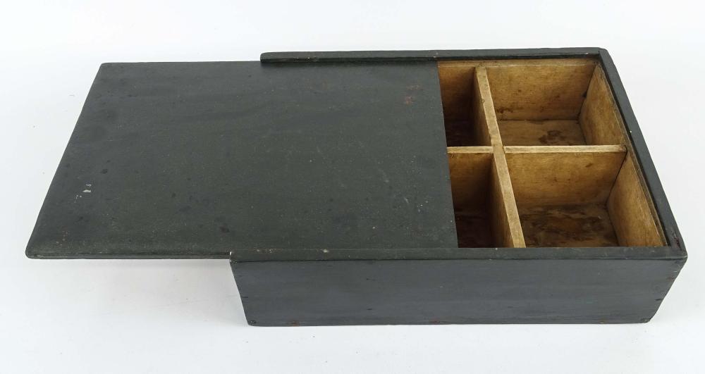 19th c. Slide Lid Box