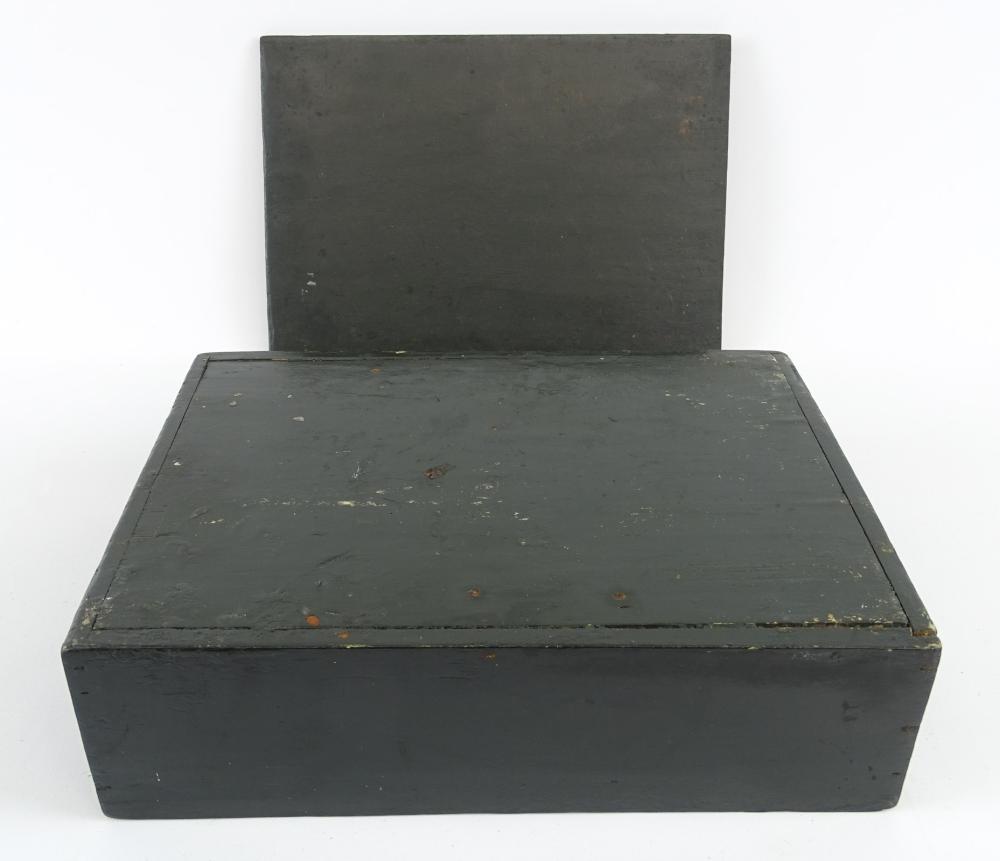 Lot 123: 19th c. Slide Lid Box