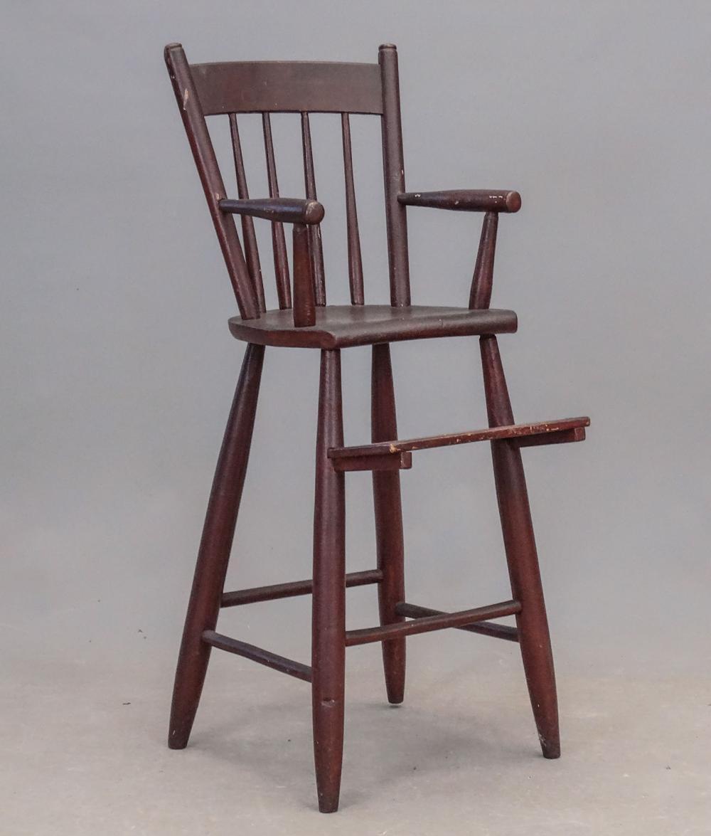 19th c. Rod Back Windsor Chair