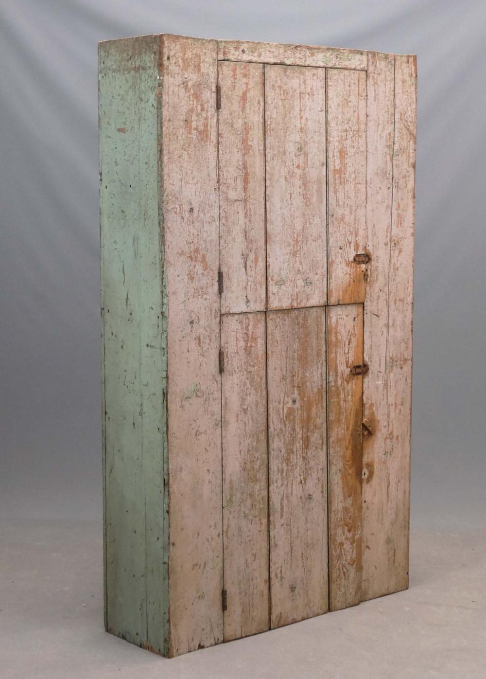 19th c. Wall Cupboard