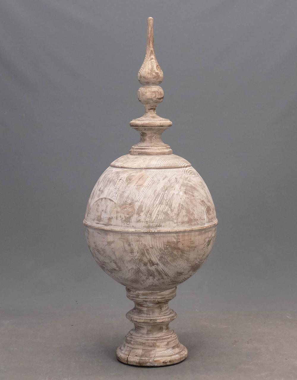 Lot 131: Wooden Architectural Finial