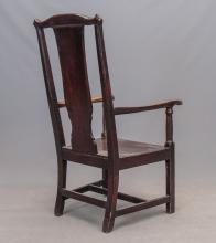 Lot 134: 18th c. Armchair