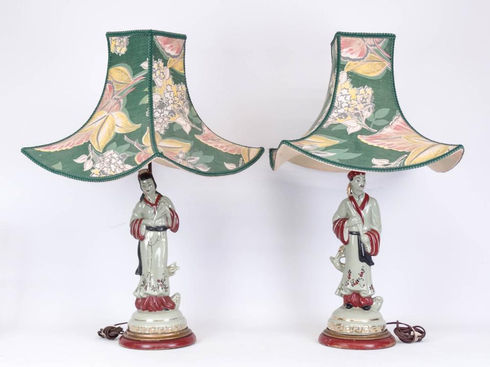 Pair Vintage Table Lamps