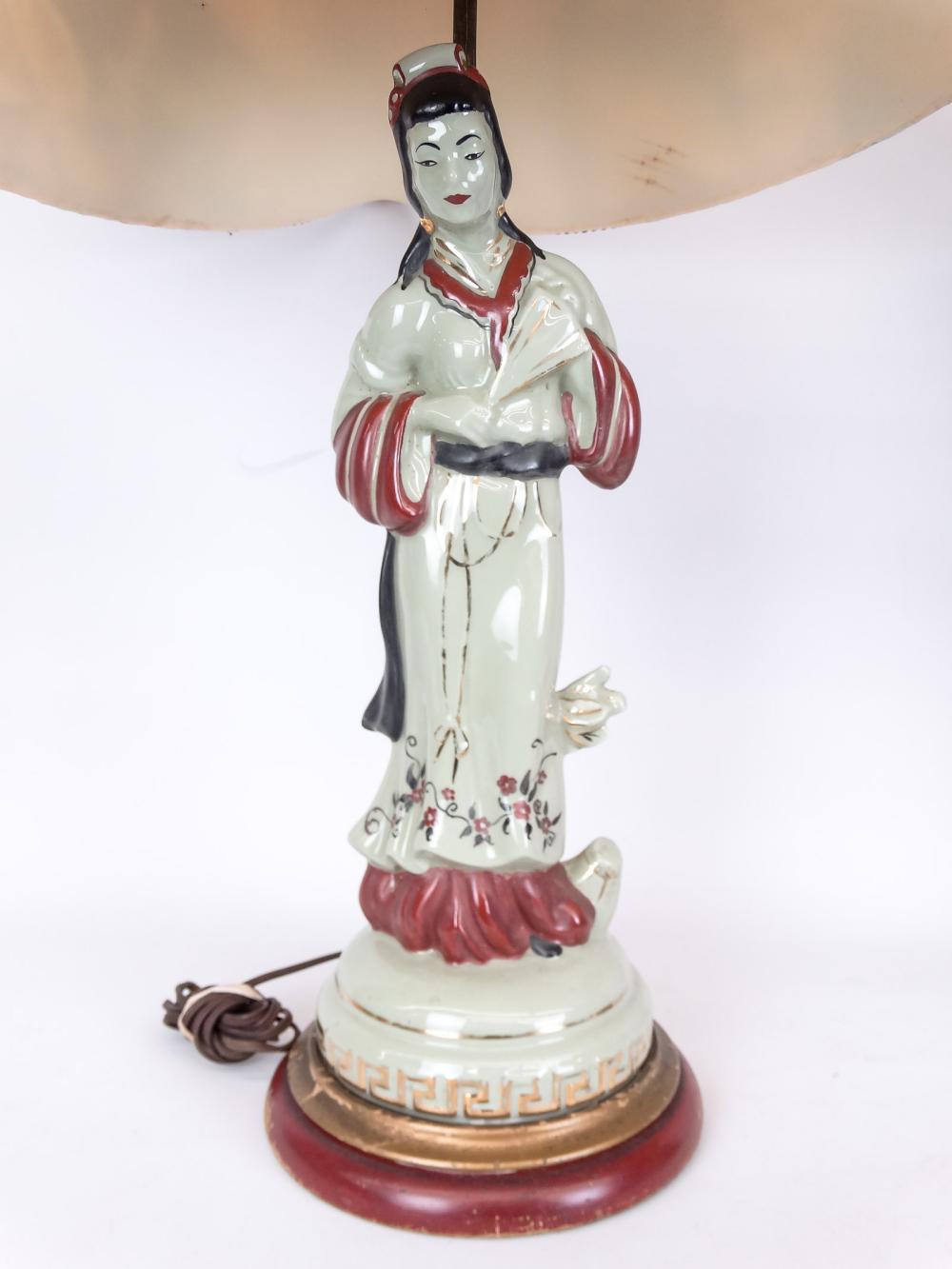 Lot 144: Pair Vintage Table Lamps