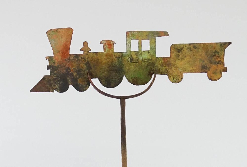 Lot 146: Train Weathervane