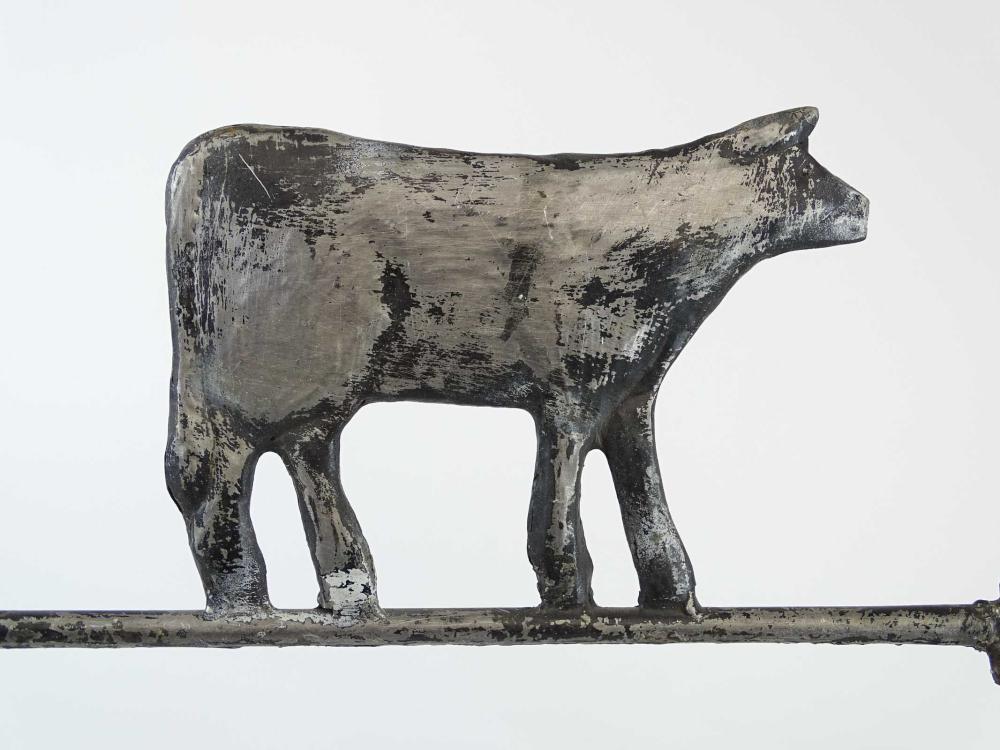 Lot 147: Cow Weathervane