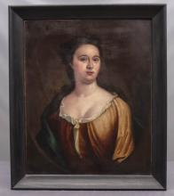 Lot 148: 18th c. Portrait Of A Woman