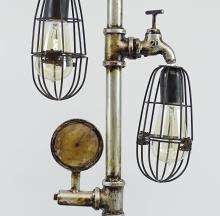 Lot 163: Steam Punk Table Lamp