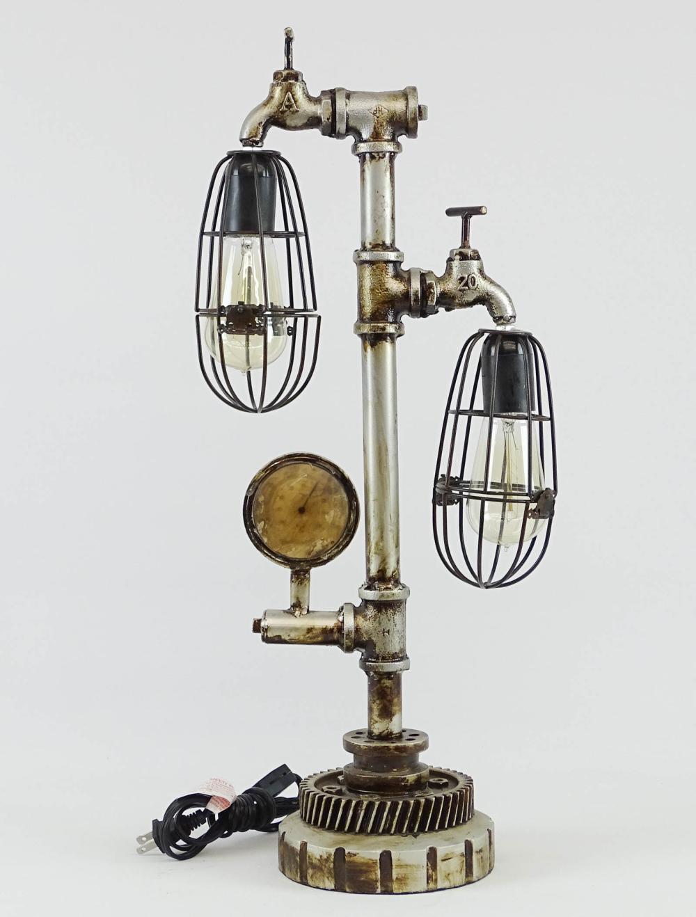 Steam Punk Table Lamp
