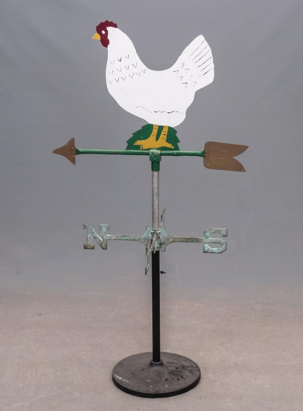 Sheet Metal Chicken Weathervane