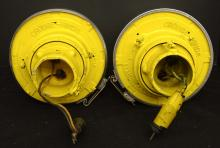 Lot 197: Pair Crouse Industrial Lights
