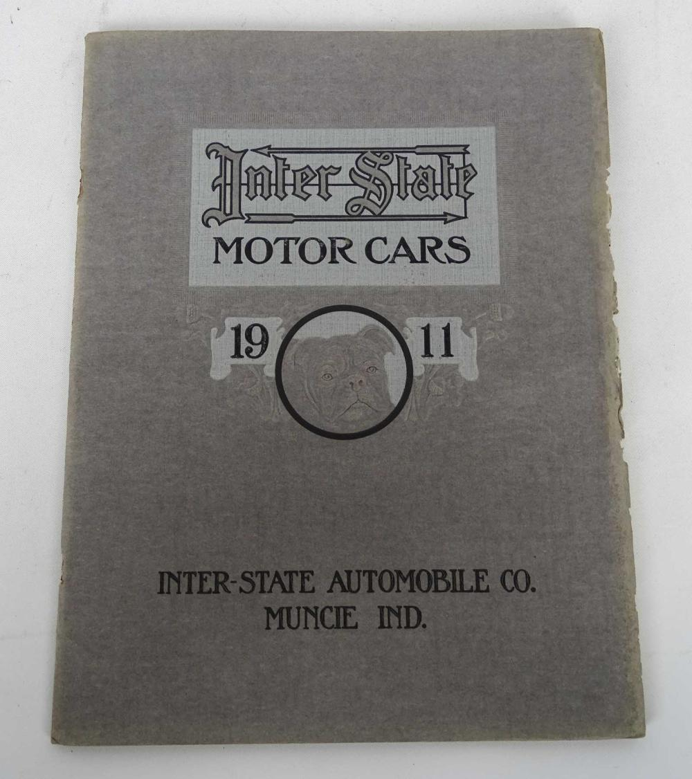 1911 Interstate Motor Cars Catalog