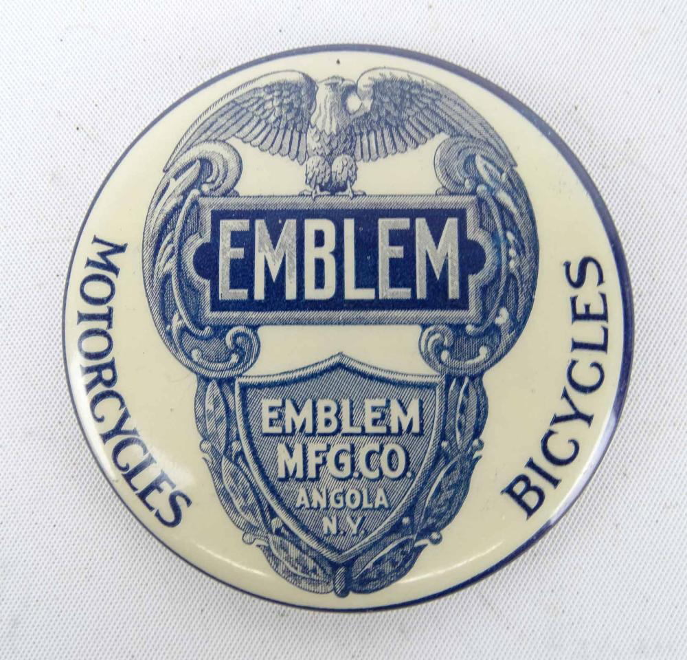 Emblem Advertising Pocket Mirror
