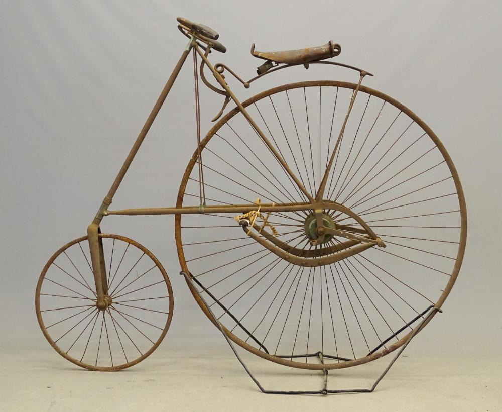 C. 1880's Star High Wheel Bicycle