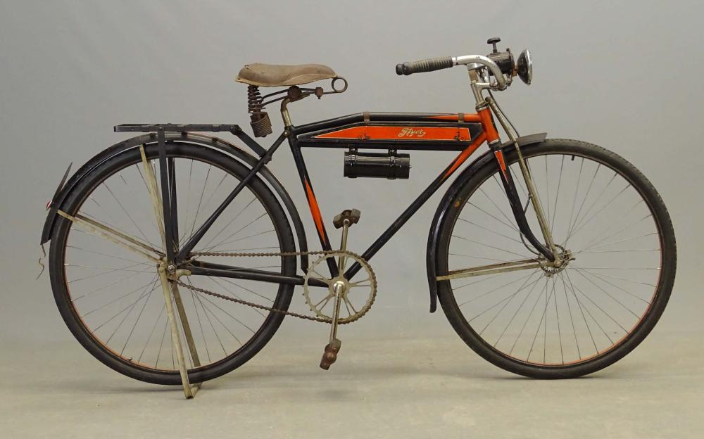1929 Hawthorne Flat Tank Bicycle