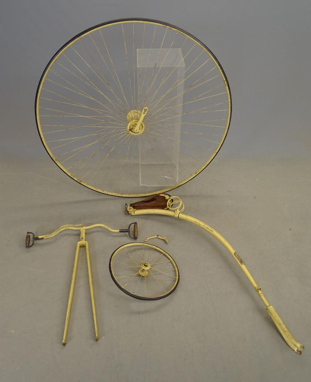 C. 1880's High Wheel Bicycle