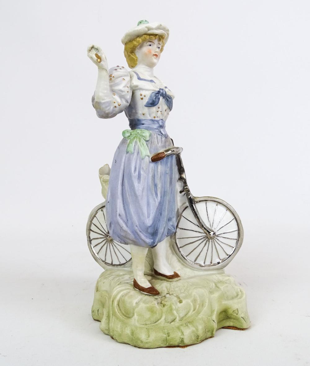 Ceramic Cigar Holder, Figure Posed With Safety