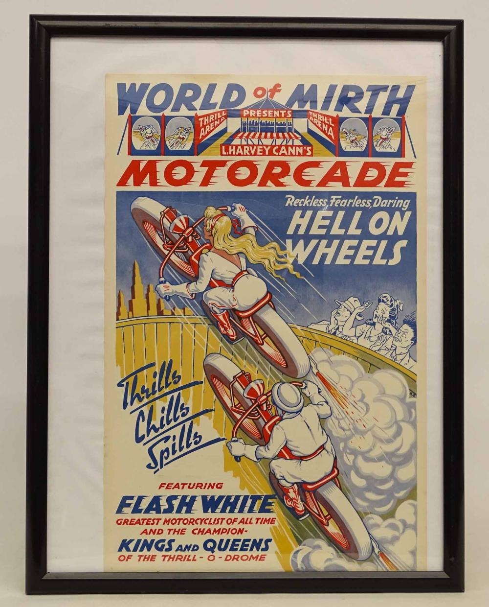 Original Daredevil Motorcycle Poster