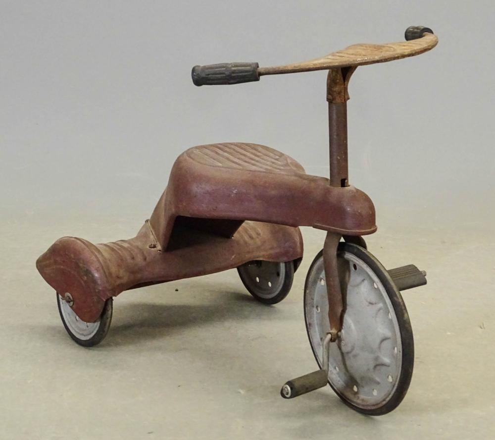1930's Pressed Steel Tricycle