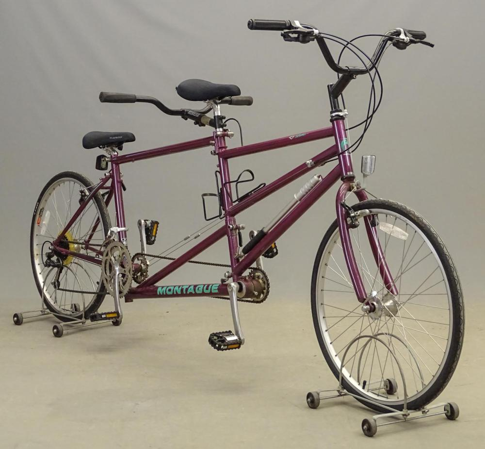Montague Tri-Fold Tandem Bicycle