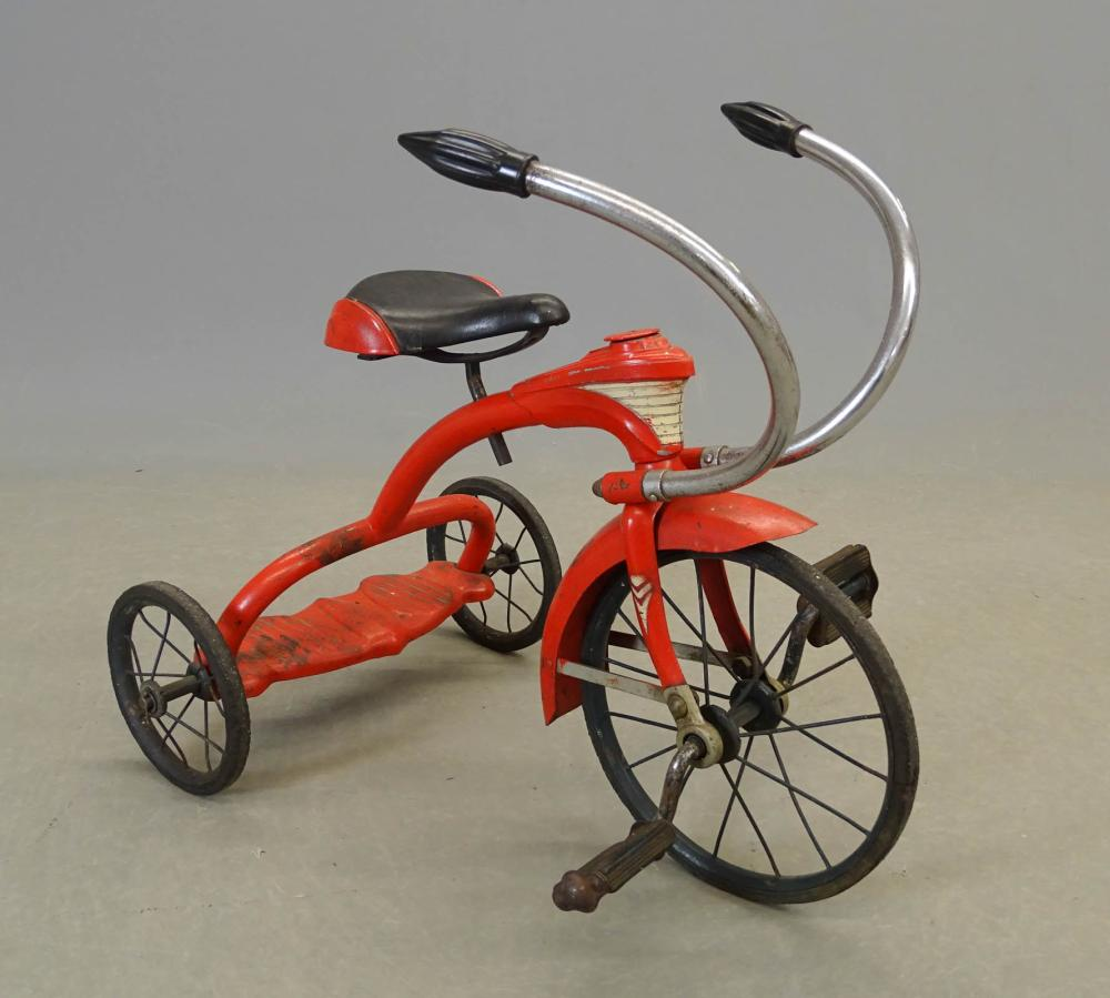 1930's Mercury Steelcraft Tricycle